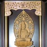Inside the Rinzai Maui Zen Buddhist Temple